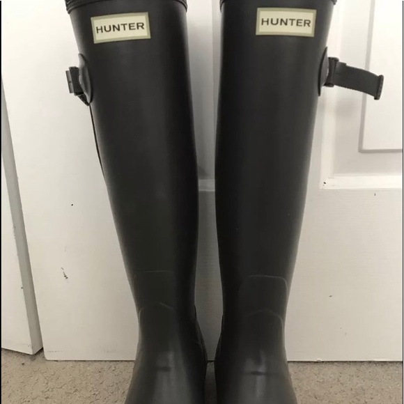 11ca3ad3284 Hunter Boots Norris Field Side Adjustable Boots